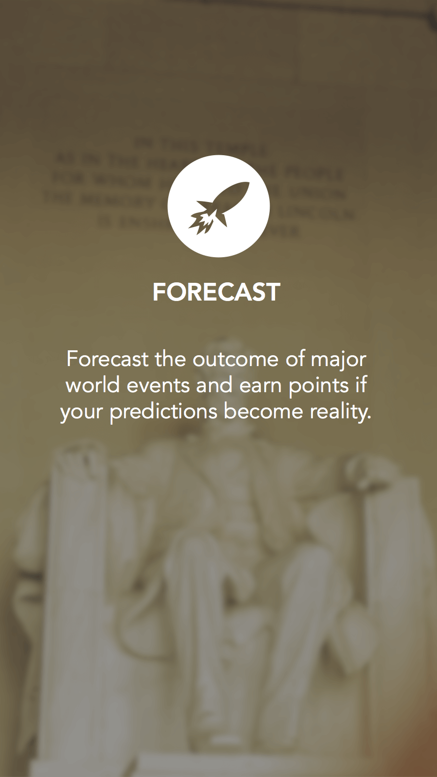 forecast screen